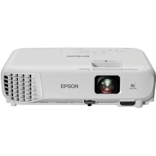 "PROIECTOR EPSON EB-S05, lampa UHE, 3200 lumeni, rezolutie SVGA (800 x 600), contrast 15.000 : 1, VGA, HDMI, USB 2.0, USB 2.0 Mini-B, , boxe, ""V11H838040"""