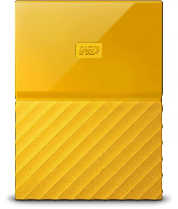 "HDD Extern WD, 2TB, My Passport, 2,5 USB 3.0, Galben ""WDBS4B0020BYL-WESN"""