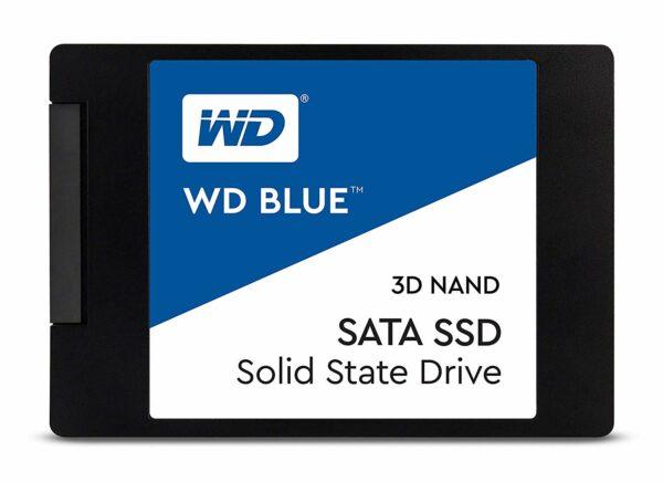 """SSD WD, Blue, 250 GB, 2.5 inch, S-ATA 3, 3D Nand, R/W: 560/530 MB/s, """"WDS250G2B0A"""""""