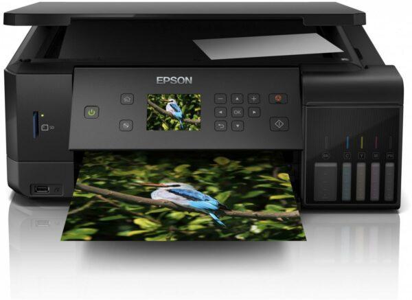 "Multifunctional CISS Color Epson L7160, A4, Functii: Impr. Scan. Cop., Viteza de Printare Monocrom: 32 ppm, Viteza de printare color: 32 ppm, Conectivitate:USB Retea WiFi, Duplex:Da, ADF:Nu(incl.TV 21RON) ""C11CG15402"""