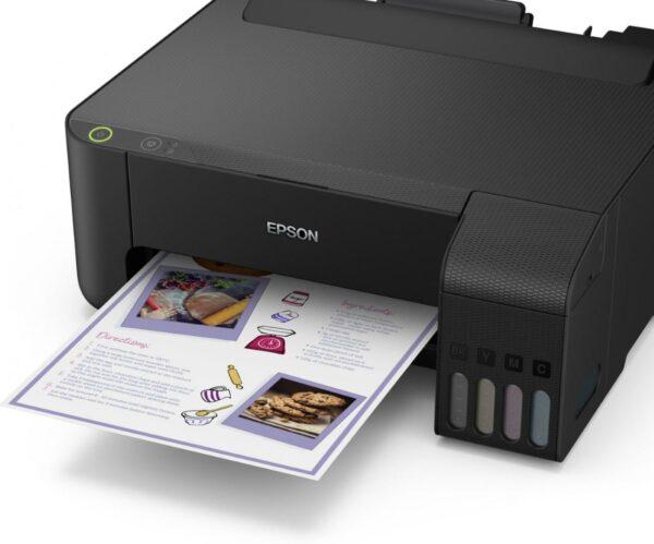 "Imprimanta CISS Color Epson L1110, A4, Functii: Impr., Viteza de Printare Monocrom: 33 ppm, Viteza de printare color: 15 ppm, Conectivitate:USB, Duplex:nu, ADF:nu(incl.TV 4RON) ""C11CG89401"""