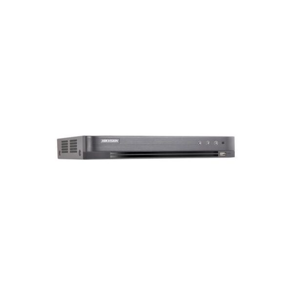 """DVR Hikvision Turbo HD, DS-7204HQHI-K1/A; Turbo HD/AHD/Analog interfaceinput; 4-ch video and 1-ch audio input; H.265/H.265+ compress ion; 1 SATAinterface, supportCVBS output, standalone 1U case, Alarm I/O. """"DS-7204HQHI-K1/A"""""""