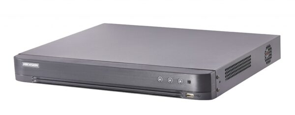"""DVR Hikvision TurboHD 8 canale DS-7208HQHI-K2; 3MP; 8 TurboHD/AHD/Analog interface input, 8-ch video and 1-ch audio input,H.265/H.265+ compression, 2 SATA interfaces, support CVBS output, 380 1U case. """"DS-7208HQHI-K2"""""""