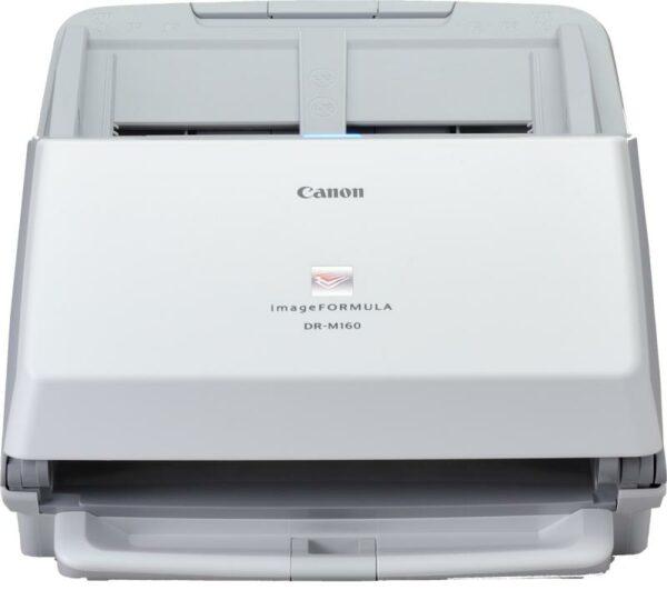 "Scanner Canon DRM160II, dimensiune A4, tip sheetfed, viteza de scanare: Alb-negru: 200/300 dpi, 40 ppm/80 ipm, Color: 200 dpi, 300 dpi: 40 ppm/80 ipm, rezolutie optica 600dpi, senzor CIS, ""EM9725B003AA"""
