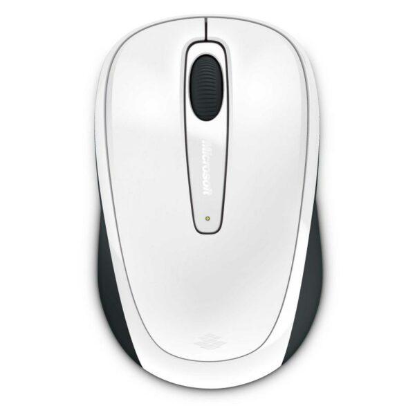 "MOUSE MICROSOFT PC sau NB, wireless, 2.4 GHz, optic, 1000 dpi, butoane/scroll 3/1, alb, ""MOBILE 3500"" ""GMF-00196"""