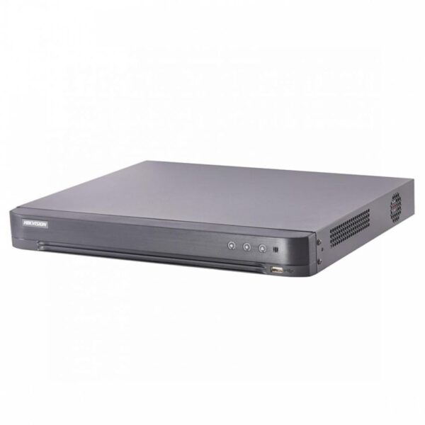 """DVR Turbo HD 4 canale Hikvision, IDS-7204HUHI-K1/4S; 5MP; Video Content Analytics; 4 canale pentru filtrarea alarmelor false; Full channel recording at up to 5 MP resolution; 4-channels """"IDS-7204HUHI-K1/4S"""""""
