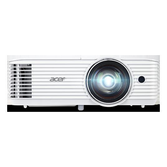 "PROIECTOR ACER S1386WH, lampa OSRAM, 3600 lumeni, rezolutie WXGA (1280 x 800), contrast 20.000 : 1, VGA, HDMI, Monitor Out, , 3.5 mm mini-jack x 2, boxe, ""MR.JQU11.001"""