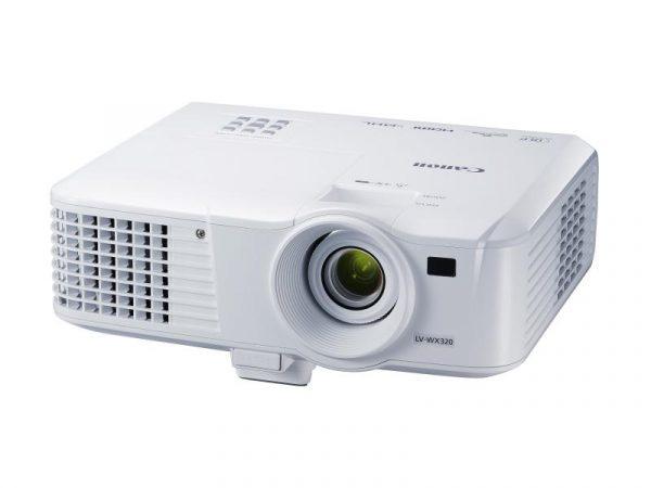 "Proiector CANON LV-X320, DLP, XGA 1024×768, 3200 lumeni, 10000:1 ,lampa6.000 ore EcoMode, boxa 10 W, HDMI, LAN RJ-45, Mini D-Sub 15 pini, Audioin/out, culoare alba ""SV0910C003AA"""