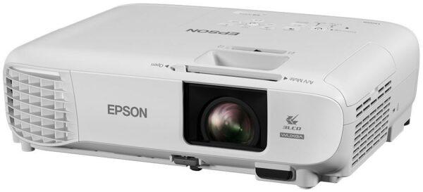 "PROIECTOR EPSON EB-UO5, lampa UHE, 3400 lumeni, rezolutie Full HD+ (WUXGA) (1920 x 1200), contrast 15.000 : 1, VGA, HDMI x 2, USB 2.0, USB 2.0 Mini-B, , boxe, ""V11H841040"""
