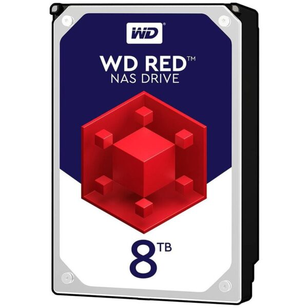 "HDD WD 8TB 5400rpm 128MB S-ATA3, pt. NAS, RED ""8EFAX"" ""WD80EFAX"""