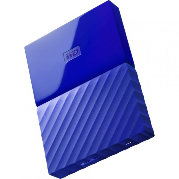 "HDD extern WD, 1TB, My Passport, 2,5″ USB 3.0, albastru ""WDBYNN0010BBL-WESN"""