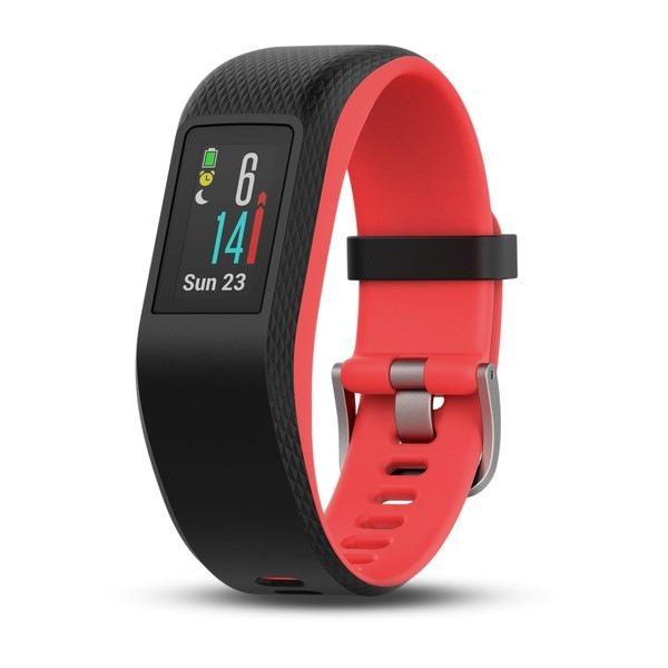 "BRATARA fitness GARMIN Vivosport, GPS, Fuchsia Focus, S/M ""010-01789-21"""