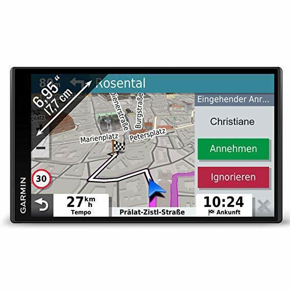 "GPS GARMIN DRIVESMART 65 6.95″ EUROPE, 010-02038-12, afisaj tactil luminos fara margini cu o capacitate de 6.95-inch, ecran WQVGA TFT, 1024 x 600 pixeli, card microSD (neinclus) ""010-02038-12"""
