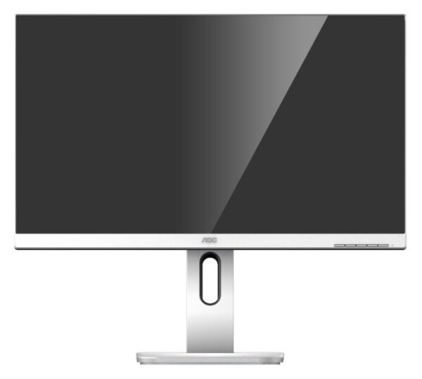 "MONITOR AOC 23.8″, home, office, IPS, Full HD (1920 x 1080), Wide, 250 cd/mp, 5 ms, VGA, DVI, HDMI, DisplayPort, ""24P1/GR"" (include TV 5 lei)"