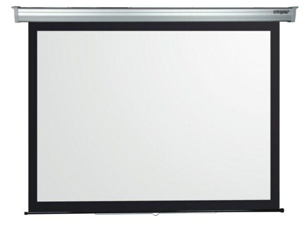 """Ecran de proiectie manual Sopar Platinum, montabil pe perete, 280cm x 210cm, format 4:3, 3281PL """"3281PL"""""""