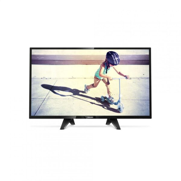"Televizor, PHILIPS, 32PFS4132/12, LED, 32″, FHD, Ultra Slim, 1920*1080, RMS 16W, Digital Crystal Clear, DVB-T2 / C / S2, SLOT CI+, HDMI , USB , VESA, BLACK ""32PFS4132/12"""