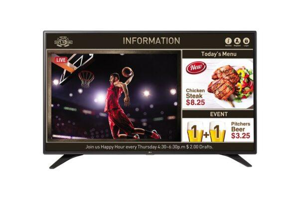 "Edge LED TV LG, 139 cm/ 55 inch, Smart TV, Internet TV, ecran plat, rezolutie Full HD 1920 x 1080, boxe 20 W, ""55LV640S"" (include TV 12.50 lei)"