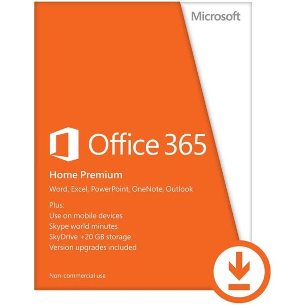 "Office365 Home Prem 32/64 AllLngSub PKLic 1YROnline Eurozone C2R NR ""6GQ-00092"""