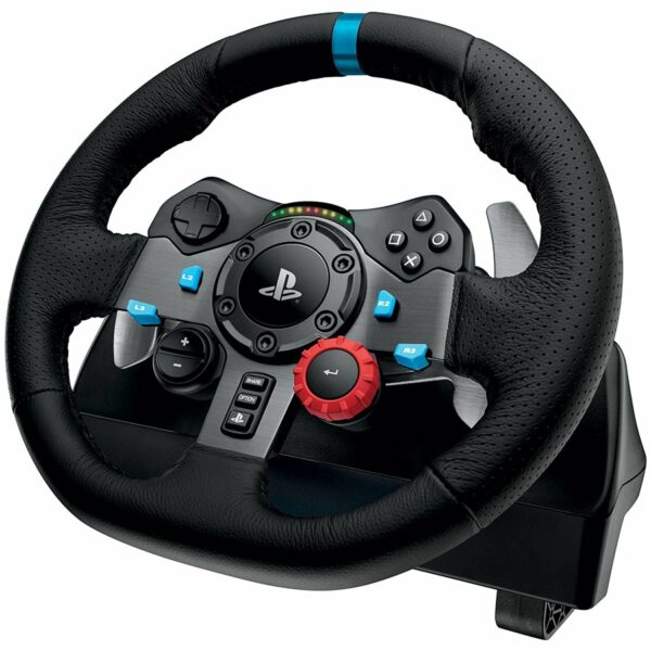 """LOGITECH Driving Force G29 Racing Wheel – PC and Playstation 3-4 – EMEA """"941-000112"""""""