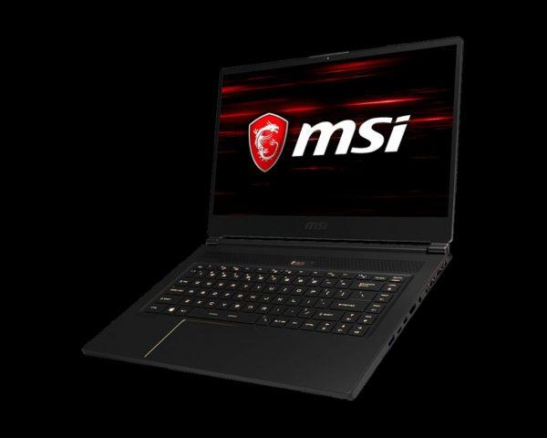 "Laptop MSI GS65 Stealth Thin 8RE-076XRO, 15.6″ FHD (1920*1080), Intel Core i7-8750H, video dedicat nVidia GeForce GTX 1060 6GB GDDR5, RAM 16GB DDR4 2666MHz (2x8GB), SSD 256GB NVMe PCIe Gen3x4, NO ODD, DOS ""9S7-16Q211-076"""
