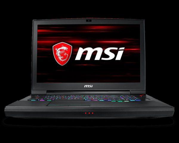 "Laptop MSI GT75 Titan 8RG-404XRO, 17.3″ FHD (1920*1080), Intel Core i7-8850H, video nVidia GeForce GTX 1080 8GB GDDR5X, RAM 16GB DDR4 2666 MHz, 512GB (256GB*2) NVMe PCIe Gen3x4 SSD +1TB (SATA) 7200rpm, NO ODD, DOS ""9S7-17A311-404"""