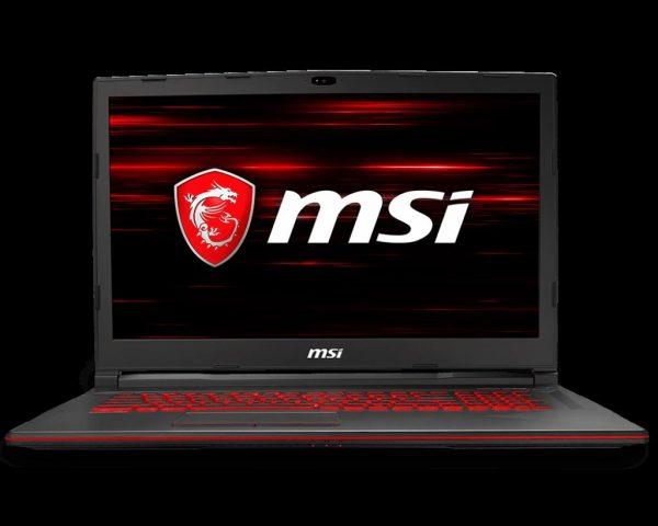 "Laptop MSI GL73 8RC-254XRO, 17.3″ FHD (1920*1080), Intel Core i5-8300H, video nVidia GeForce GTX 1050 4GB GDDR5, RAM 8GB DDR4 2666MHz (1x8GB), up to 32GB, HDD 1TB (SATA) 7mm, NO ODD, DOS ""9S7-17C612-254"""