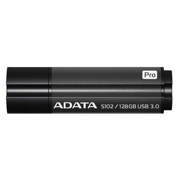"MEMORIE USB 3.1 ADATA 128 GB, cu capac, carcasa aluminiu, negru, ""AS102P-128G-RGY"" (include TV 0.02 lei)"