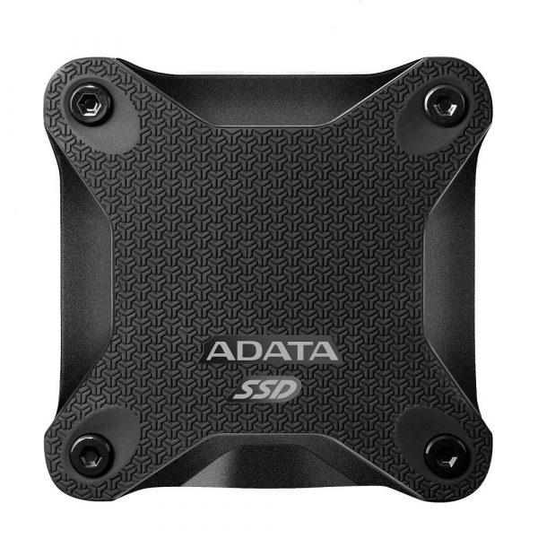 "SSD Extern ADATA SD600, 2.5″, 256GB, USB 3.1, R/W speed: up to 440/430 MB/s, Negru ""ASD600-256GU31-CBK"""