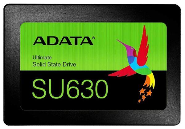 "SSD ADATA 2.5″ SATA3 240GB Ultimate SU630 3D QLC NAND R/W up to 520/450MB/s ""ASU630SS-240GQ-R"""