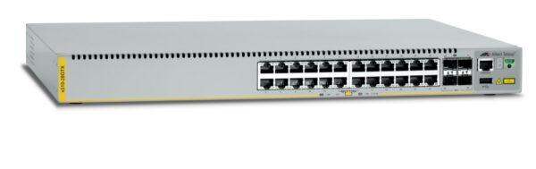 """SWITCH ALLIED TELESIS, X510-28GTX, porturi Gigabit x 24, SFP x 4, managed, rackabil, carcasa metalica, """"AT-X510-28GTX-50"""""""