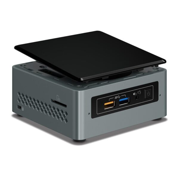 "Intel NUC ""Arches Canyon "" PC Barebone (Intel Celeron Processor J3455 (2M Cache, up to 2.3 GHz); support for 2.5xxxx HDD/SSD, up to 8GB DDR3L-1600/1866 1.35V SO-DIMM, VGA (HDB15); HDMI 2.0 , Intel 10/100/1000Mbps, Intel Wireless,""BOXNUC6CAYH"""
