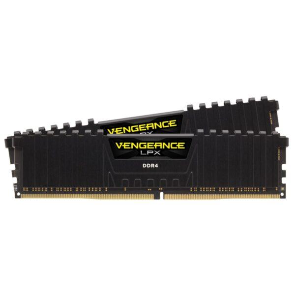 "Memorii CORSAIR DDR4 16 GB, frecventa 3000 MHz, 8 GB x 2 module, radiator, ""CMK16GX4M2B3000C15"""