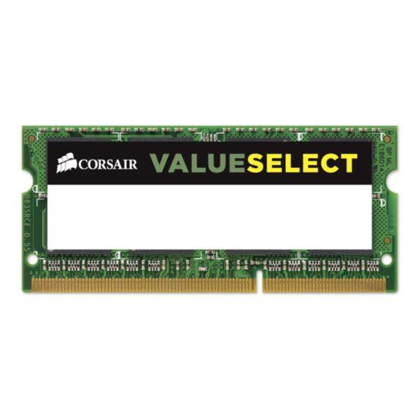 "SODIMM CORSAIR, 8 GB DDR3, 1600 MHz, CL11, ""CMSO8GX3M1C1600C11"""