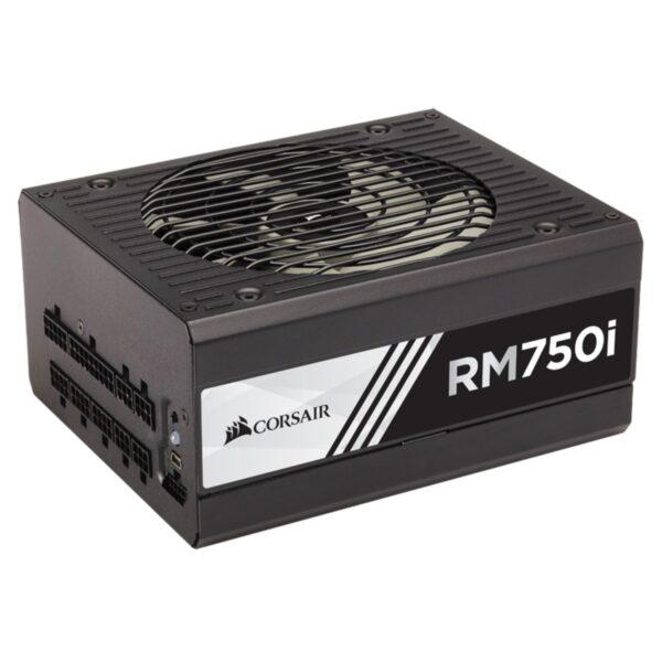 "Sursa Corsair RMi Series RM750i, 750W, full-modulara, 80 Plus Gold, Eff. 90%, Active PFC, ATX12V v2.4, 1x140mm fan, retail ""CP-9020082-EU"""
