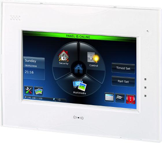 "TASTATURA alarma HONEYWELL, GX Touchcenter, compatibila cu Dimension, Flex V1, V, ""CP045-00"""