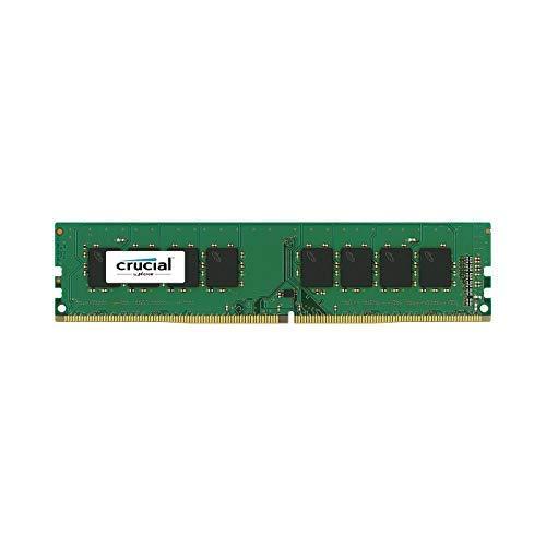 "Crucial DRAM 4GB DDR4 2666 MT/s (PC4-21300) CL19 SR x8 UDIMM 288pin ""CT4G4DFS8266"""
