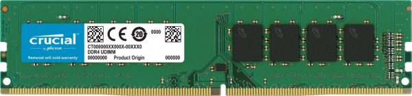 """DIMM CRUCIAL DDR4/2400 8GB, , 288-pin DIMM, CL 17, Nominal voltage 1.2 V, """"CT8G4DFD824A"""""""