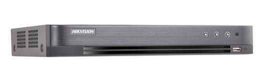 "DVR HIKVISION, 8 canale, Rackabil, capacitate max 10 TB de fiecare HDD, porturi HDMI | VGA | RCA | Retea RJ45 | USB 2.0 | Alarm In | Alarm Out | IP video input, ""DS-7208HUHI-K2/P"""
