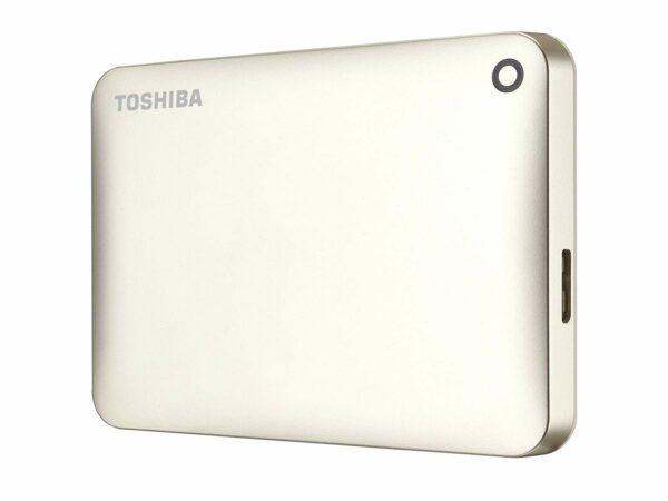 "Canvio Connect II, 500GB, USB 3.0, 2,5″, Colour Gold, Dimensions 78x109x14 mm ""HDTC805EC3AA"""