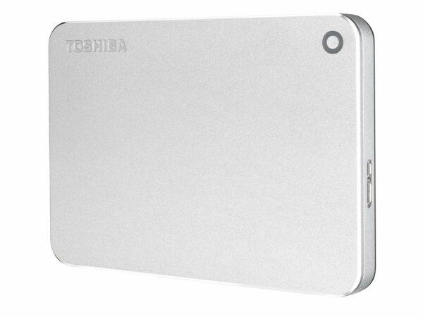 "HDD extern TOSHIBA 2 TB, Canvio Premium, 2.5 inch, USB 3.0, argintiu, ""HDTW220ES3AA"""