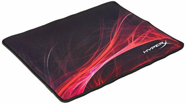 "Mouse PAD KINGSTON, ""HyperX FURY S Pro"", gaming, cauciuc si material textil, 360 x 300 x 3 mm, negru si rosu, ""HX-MPFS-S-M"""