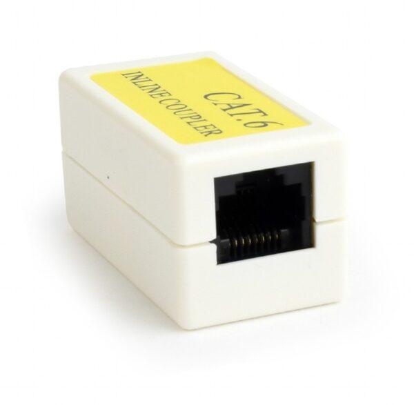 """CUPLA RJ-45 GEMBIRD pt. cablu UTP, Cat6, RJ-45 (M) x 2, plastic, 1 buc, """"NCA-LC6-01"""""""