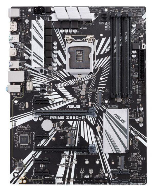 """Intel Z390 Express, LGA1151, ATX, 4xPCI-Express 3.0 1x, 2xPCI-Express 3.0 16x, 2xM.2, DDR4, 4266/4133/4000/3866/3733/3600/3466/3400/3333/3300/3200/3000/2800/2666/2400/2133 MHz, Memory slots 4, """"PRIME Z390-P"""""""
