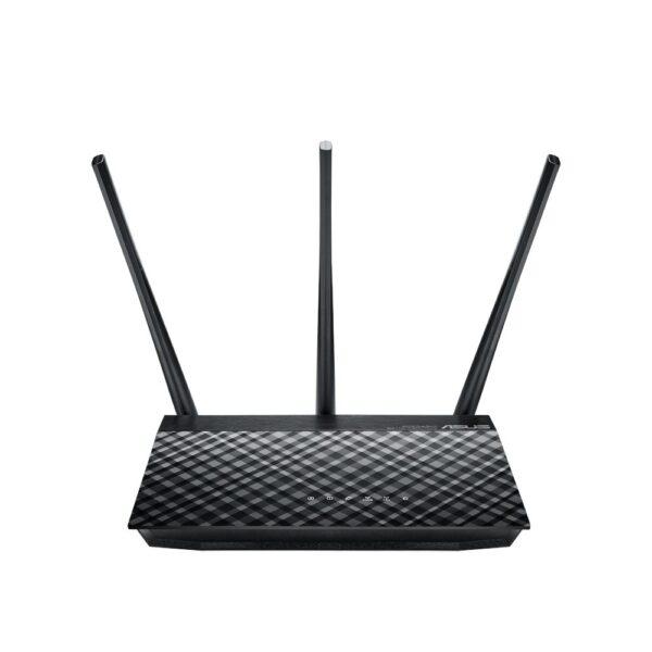 "ROUTER ASUS wireless, 750 Mbps, porturi Gigabit x 2, antena externa x 3, AC750, dual band, ""RT-AC53"""