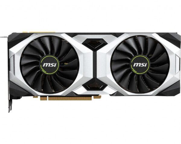 "PLACA VIDEO MSI NVIDIA GeForce RTX 2080 Ti Ventus 11G, 11 GB GDDR6 352 biti, PCI Express 3.0 x 16, HDMI, Display Port x 3, sistem racire aer activ, ""RTX2080TIVENTUS11G"""