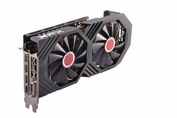 """XFX Video Card AMD Radeon RX 580 GTS 8GB XXX Ed. OC 1366 Mhz GDDR5 8GB/256bit Dynamic 22 Blade fanxxxx 3X DP HDMI DVI """"RX-580P8DFD6"""""""
