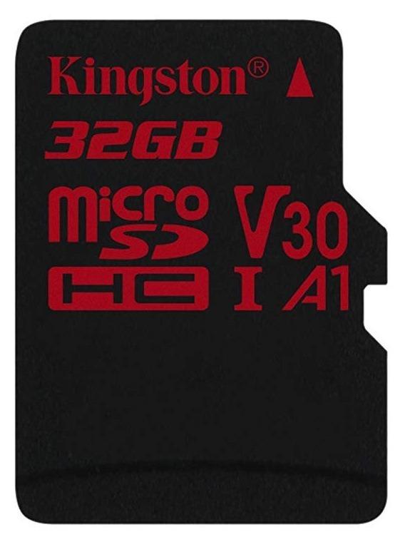 "CARD MicroSD KINGSTON, 32 GB, MicroSDHC, clasa 10, standard UHS-I U3, ""SDCR/32GBSP"""