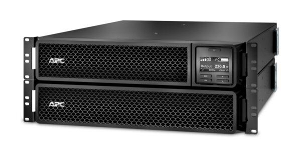 """UPS APC, """"Smart-UPS SRT"""", Online cu sinusoida pura, rack, 2200VA/1980W, AVR, IEC x 10, 1 x baterie APCRBC141, display LCD, back-up 11 – 20 min., """"SRT2200RMXLI-NC"""""""