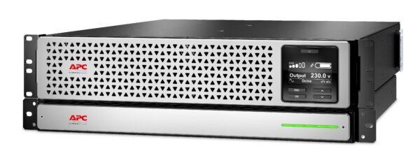 """UPS APC Smart-UPS SRT LI-ION online dubla-conversie 3000VA / 2700W 8 conectori C13 2 conectori C19 extended runtime, baterie APCRBC140,rackabil,placa retea """"SRTL3000RMXLI-NC"""""""