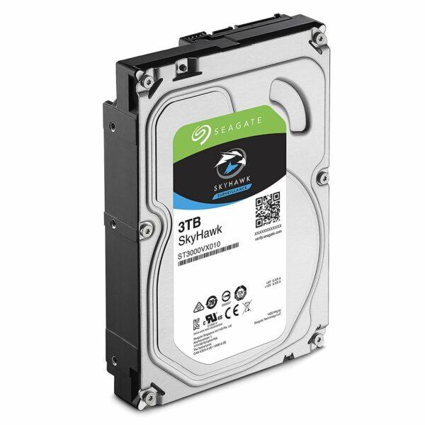 """HDD SEAGATE 3 TB, SkyHawk, 5.400 rpm, buffer 256 MB, pt. supraveghere, """"ST3000VX009"""""""